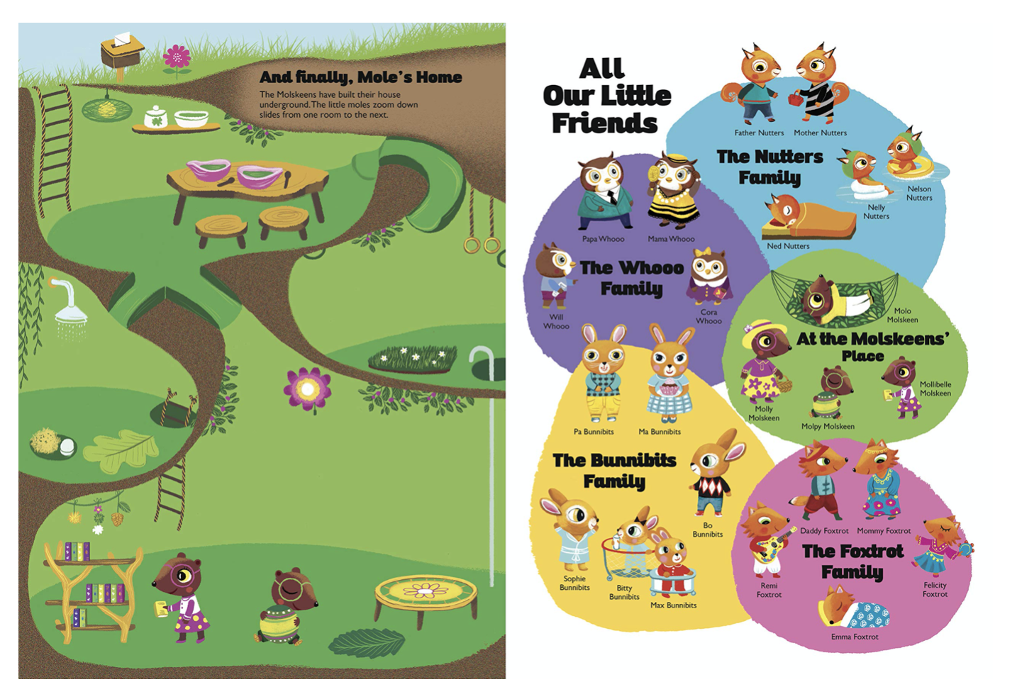 New Homes for our Little Friends: A Play-and-Learn Activity Book