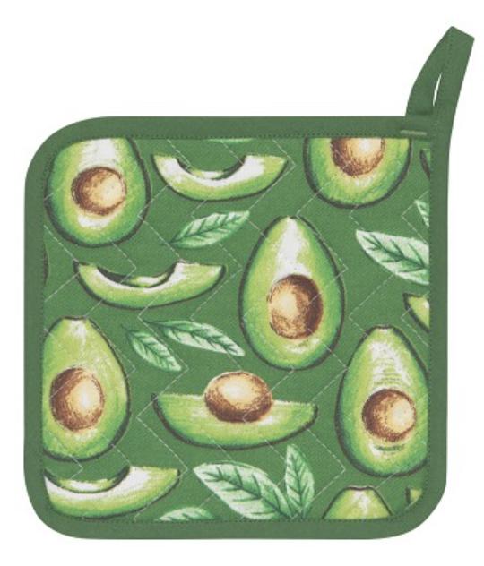 Avocados, Printed Potholder