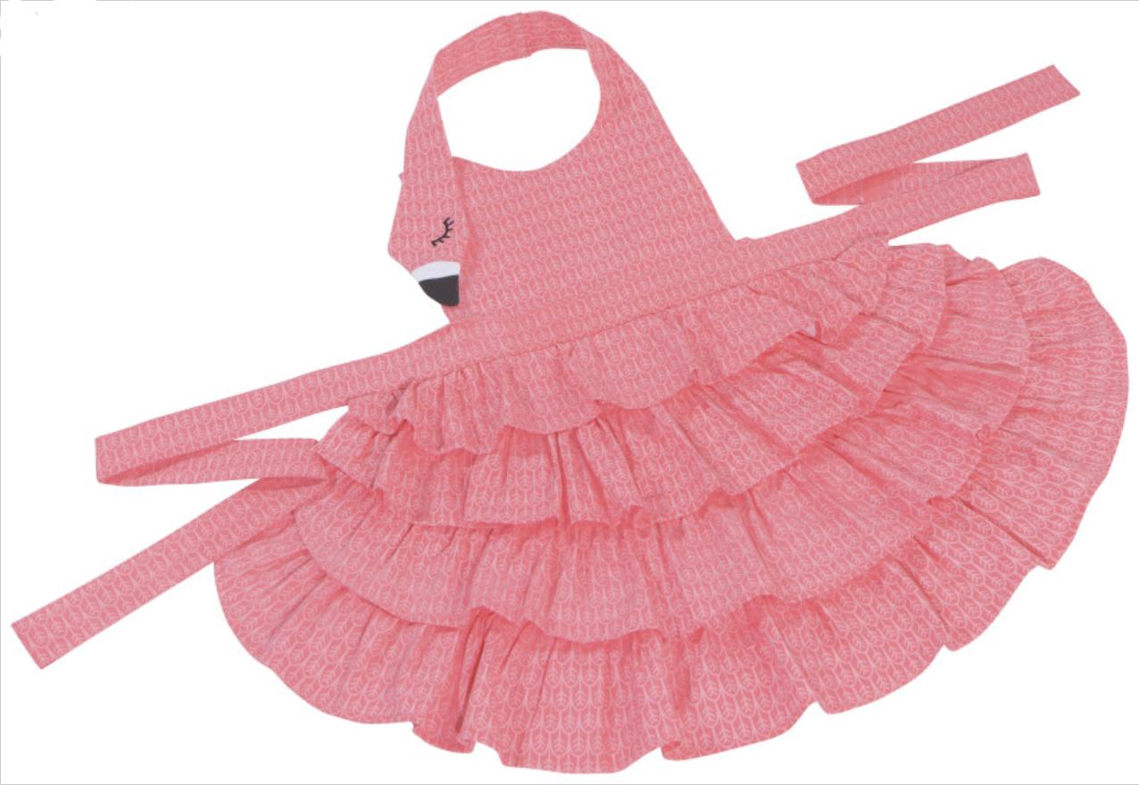Flamingo Day Dreams Child's Apron