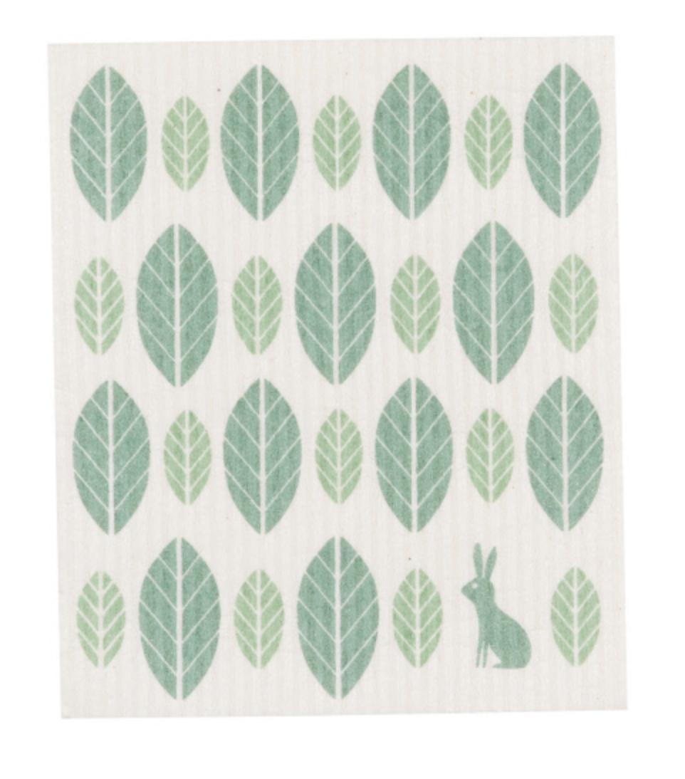 Swedish Dish Cloth: Green Life--CHOOSE DESIGN