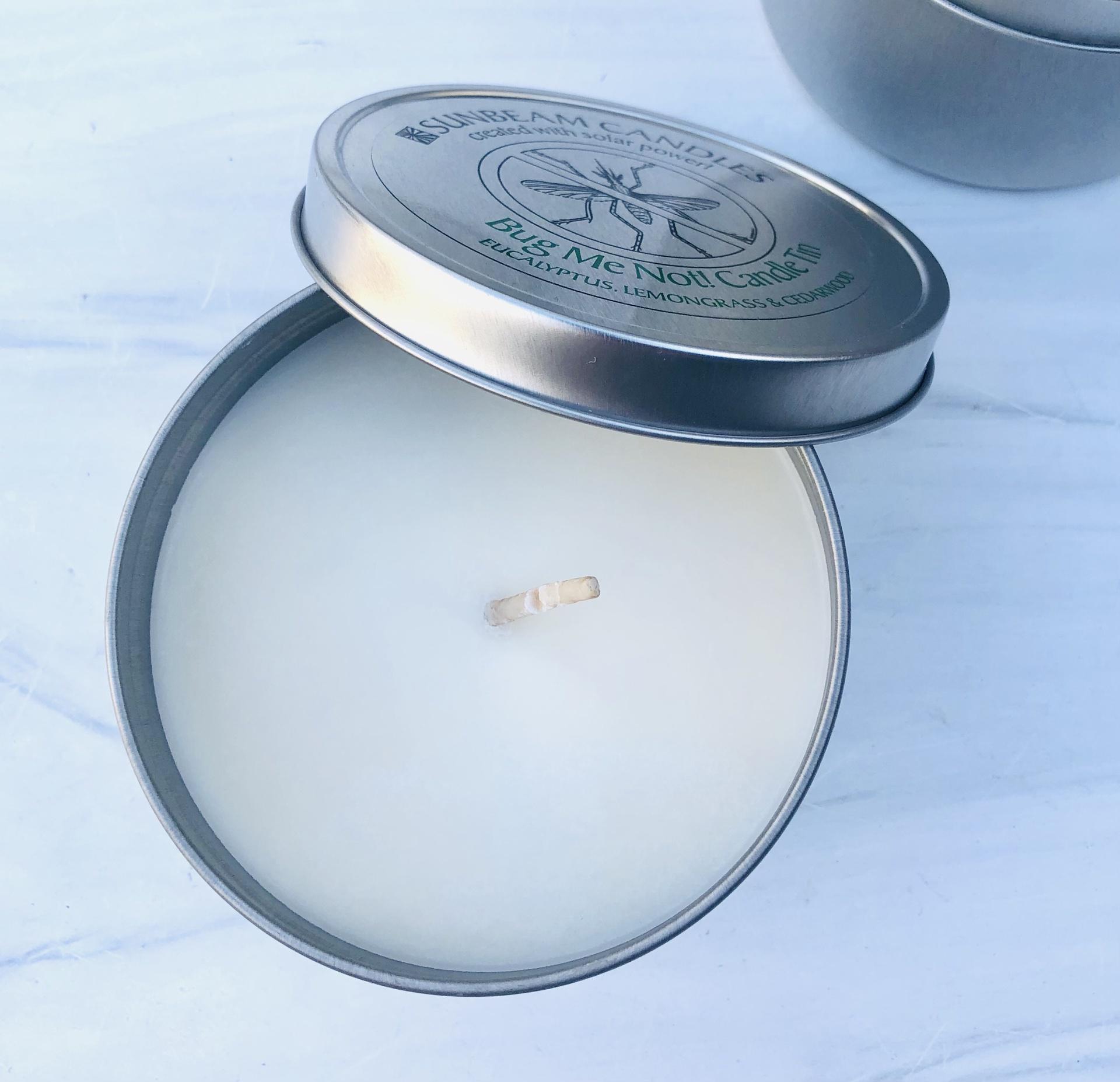 Bug Me Not! Candle Tin