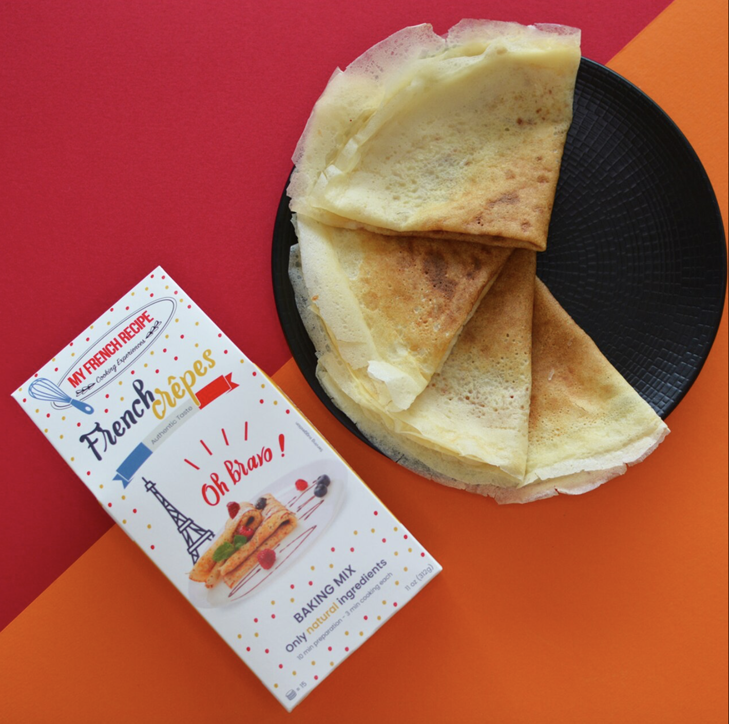 French Crepes Mix