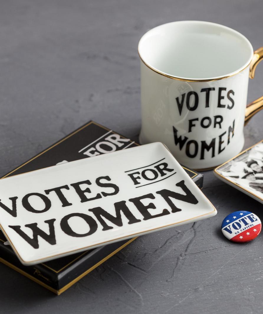Votes for Women Ceramic Tray
