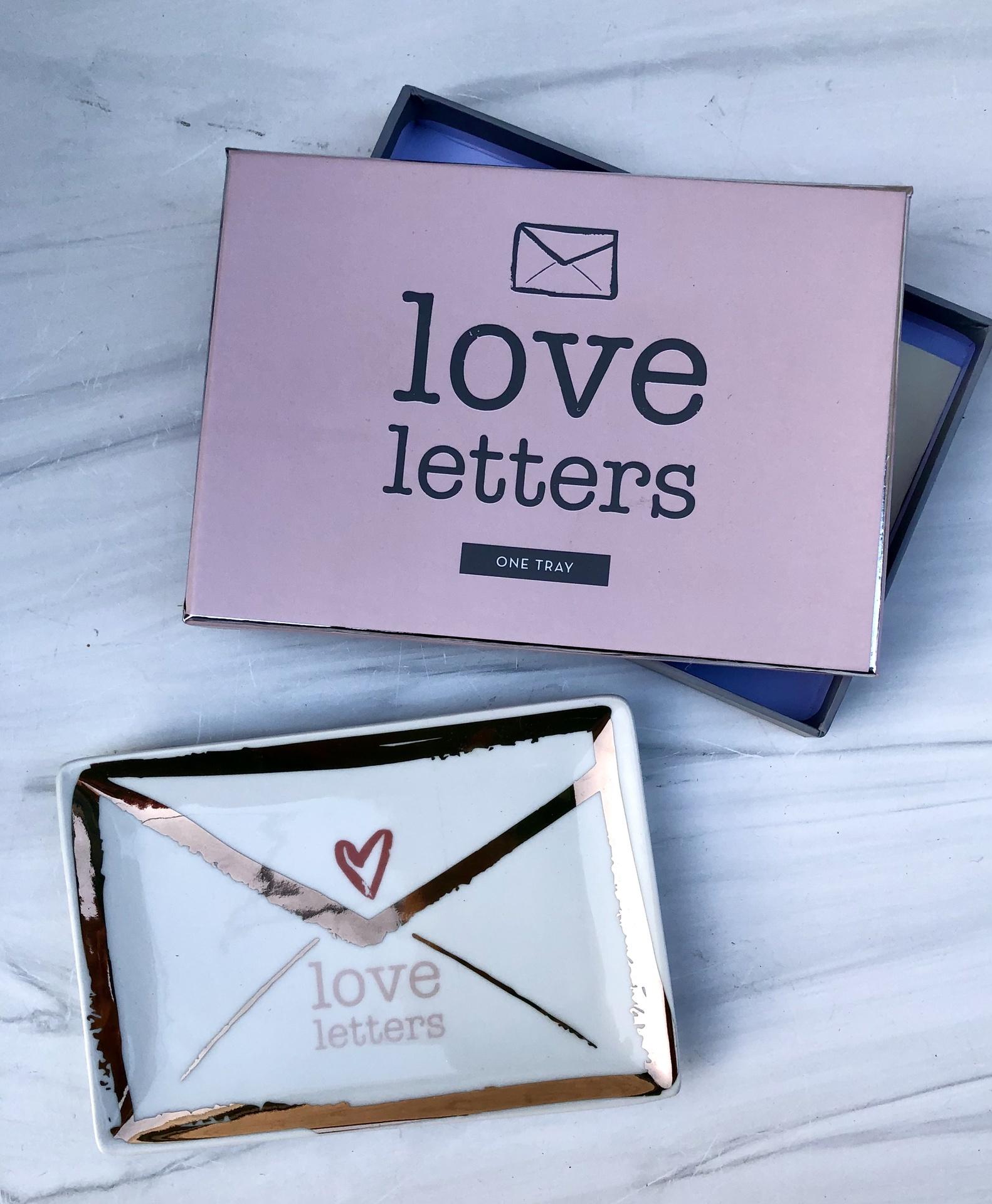 Love Letter Trinket Dish