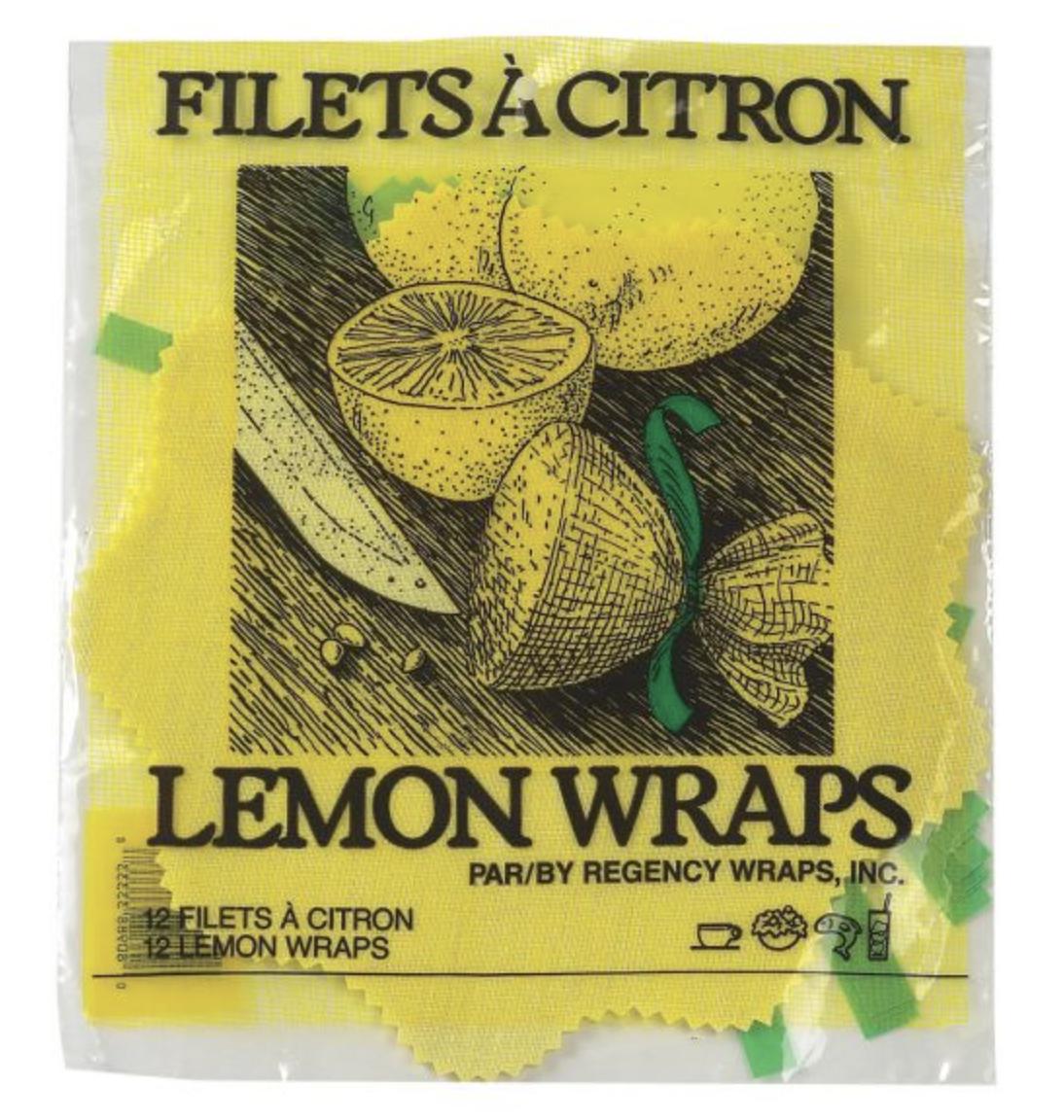 Lemon Wraps, pkg/12