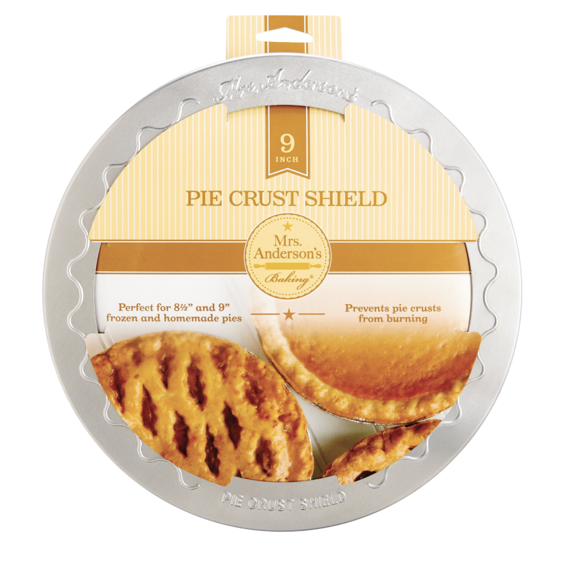 Mrs Anderson's Pie Shield--CHOOSE SIZE