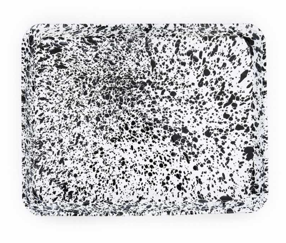 Enamelware Splatter Baking Tray