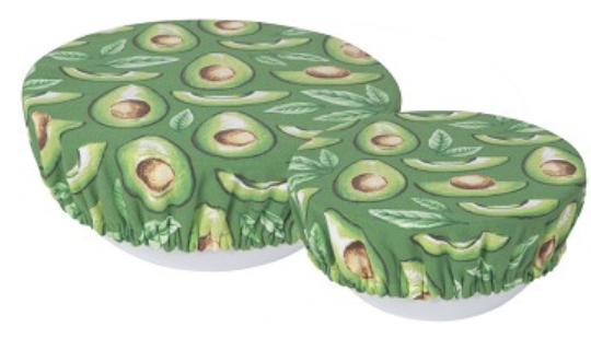 Avocados Bowl Cover, set/2