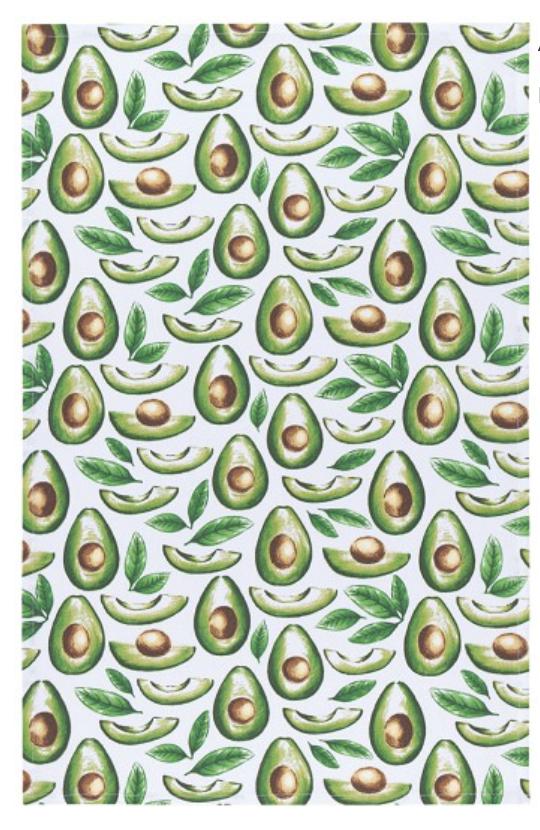 Avocados Tea Towel