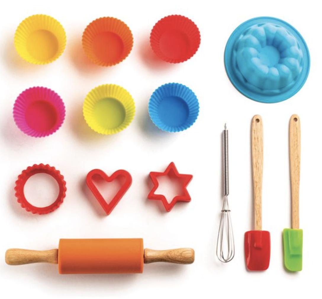 Kids' Baking Set, 14 pieces