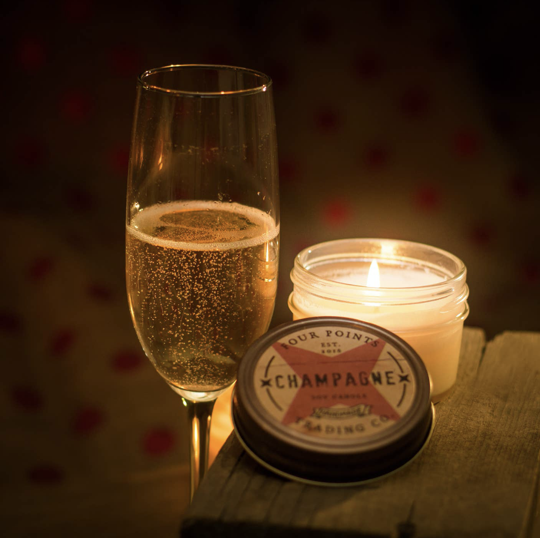 Champagne, 4oz Soy Candle