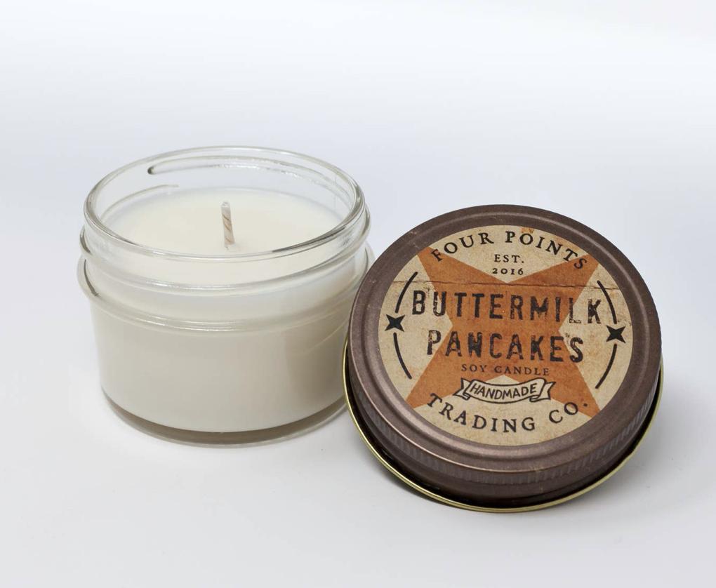 Buttermilk Pancakes, 4oz Soy Candle