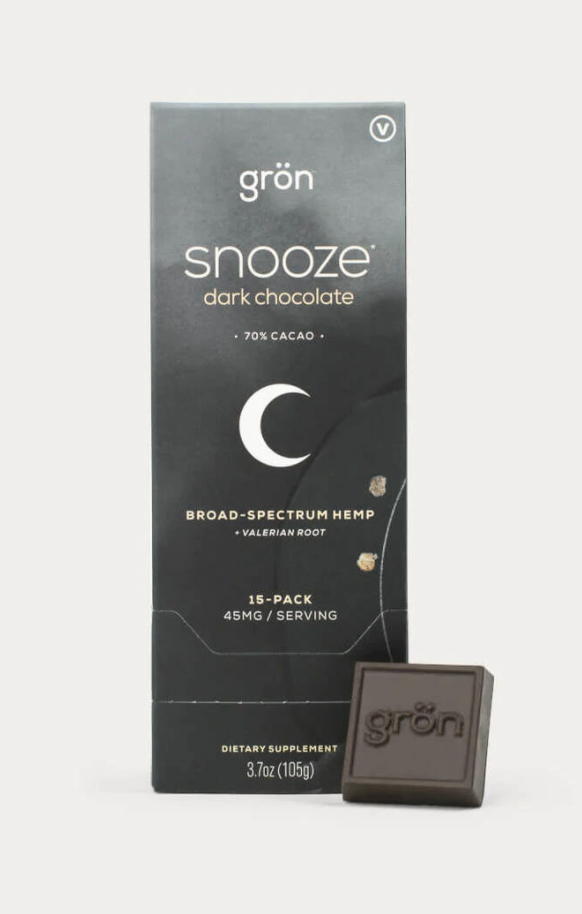 Snooze Dark Chocolate, 15piece Dispenser 45mg