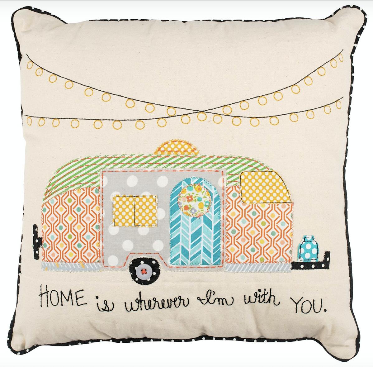Home Trailer Pillow