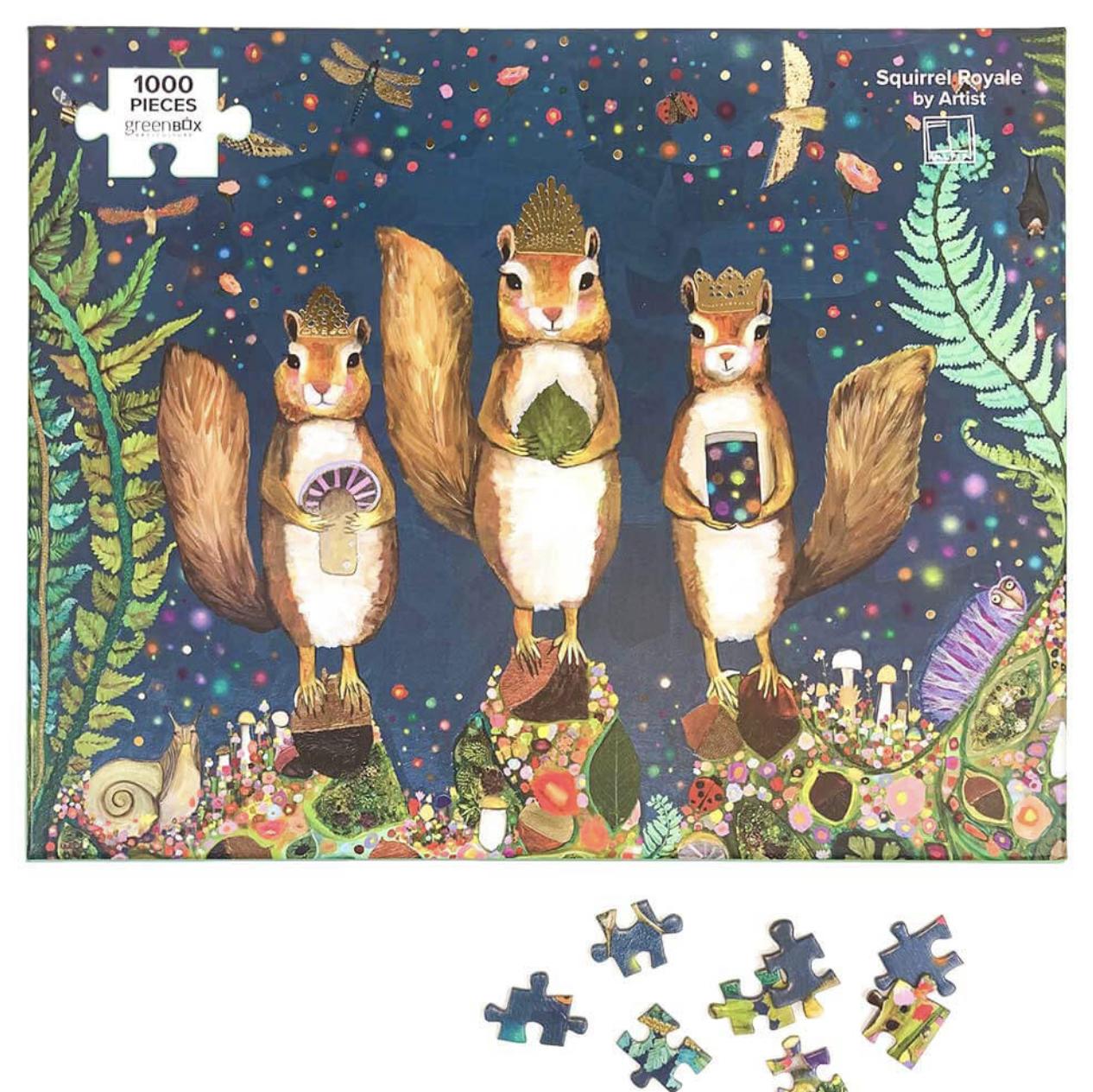 Squirrel Royale 1000 Piece Puzzle