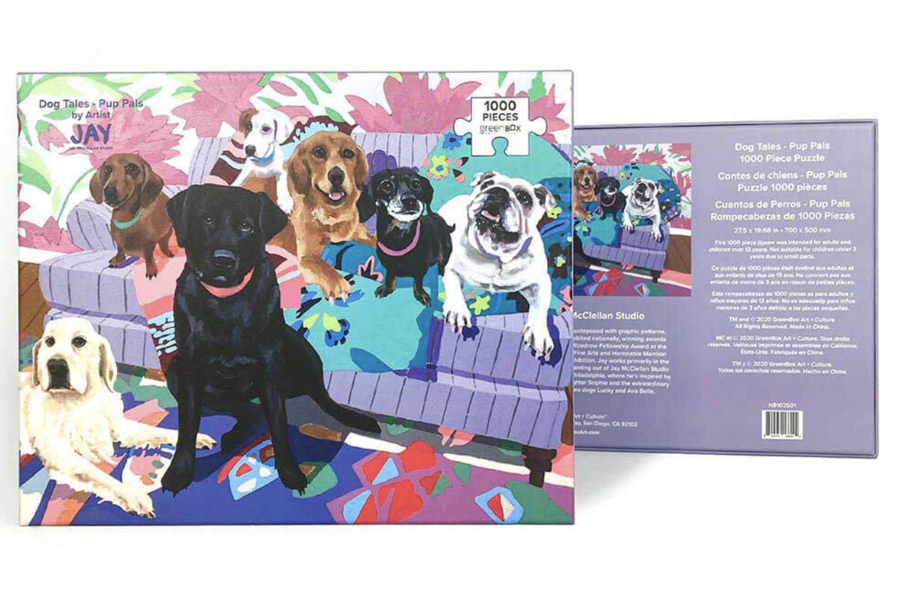 Dog Tales, Pup Pals 1000 Piece Puzzle