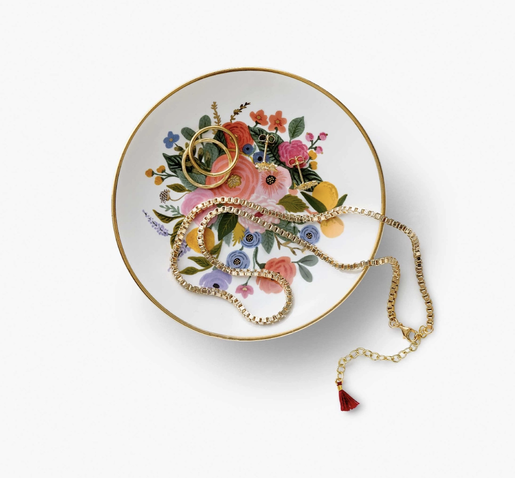 Rifle Paper Co. Garden Party Bouquet Ring Dish