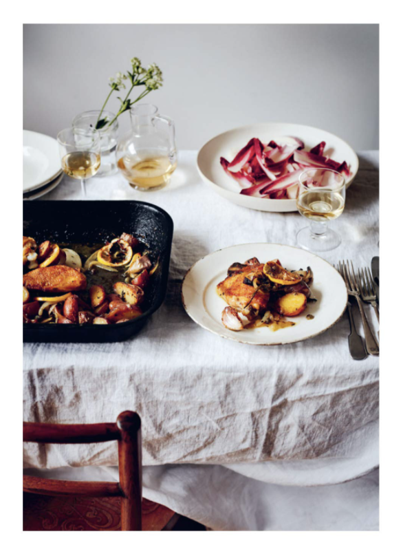 From the Oven to the Table: Simple Dishes that Look After Themselves (Hardcover)