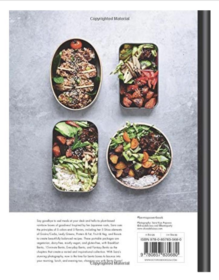 Bento Power: Brilliantly Balanced Lunchbox Recipes (Hardcover)