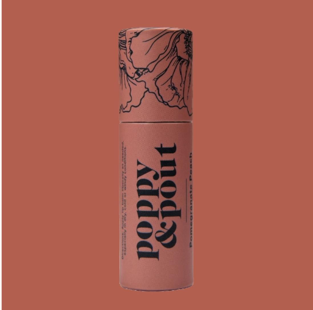 Pomegranate Peach: Poppy & Pout Lip Balm