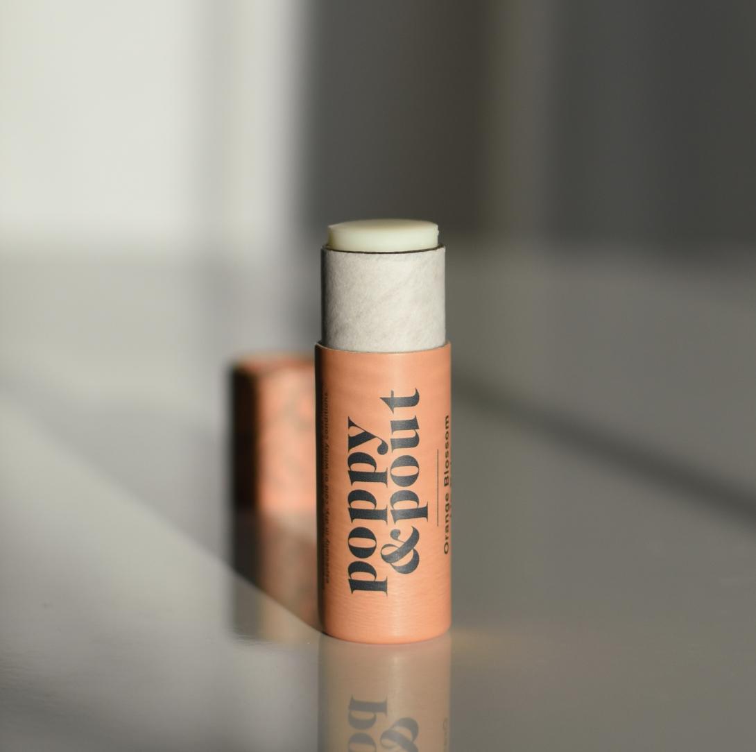 Orange Blossom: Poppy & Pout Lip Balm