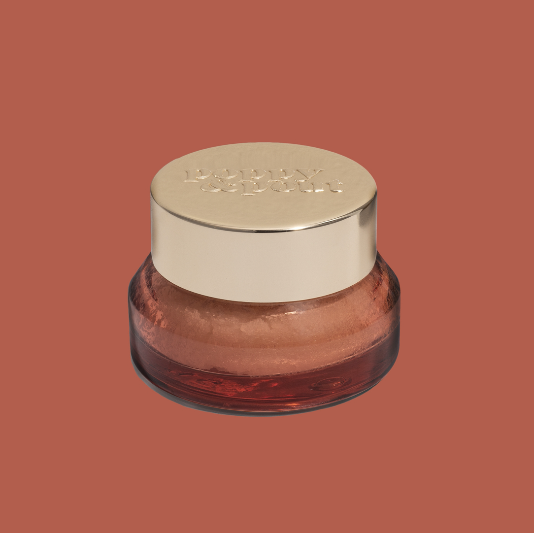Pomegranate Peach: Poppy & Pout Lip Scrub