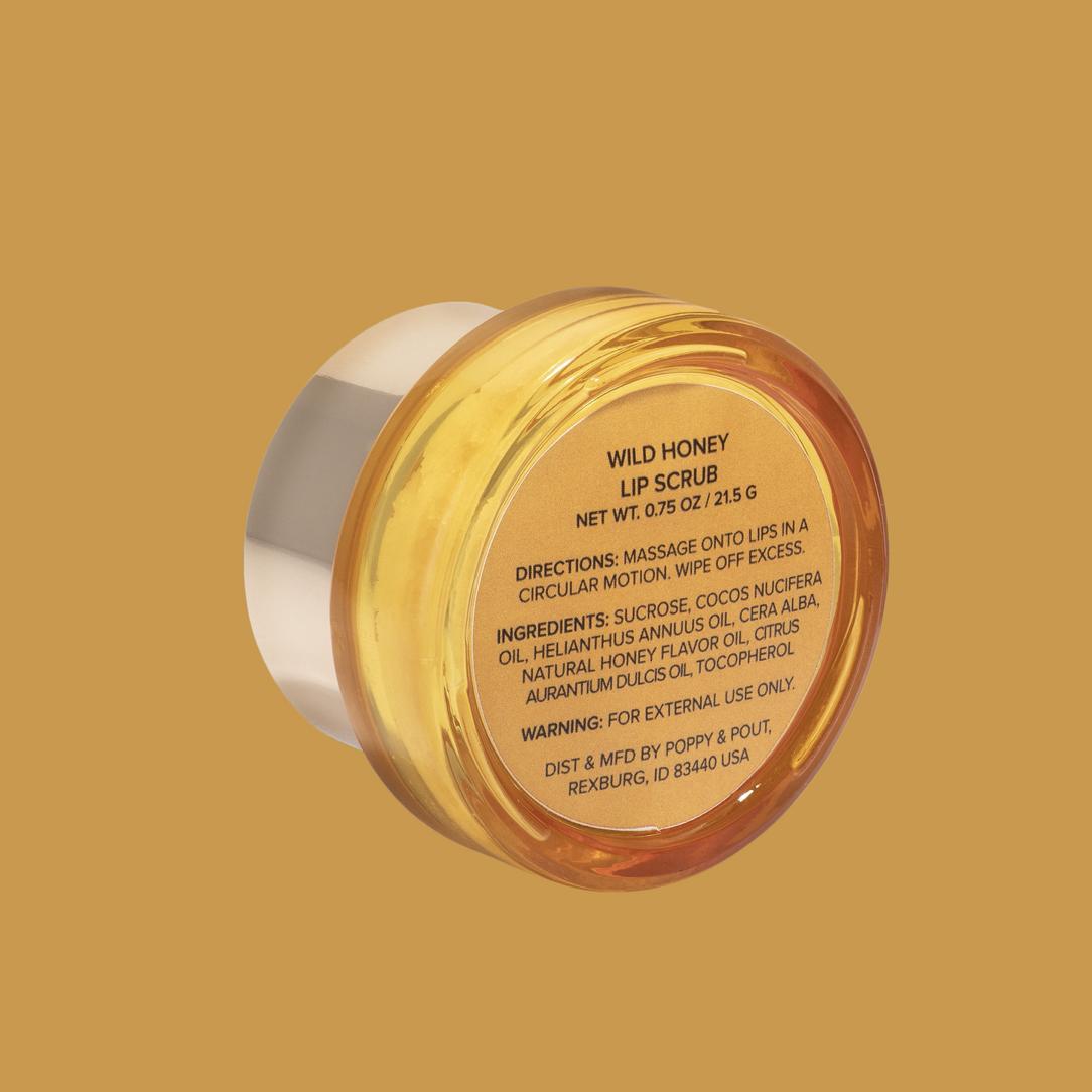 Wild Honey: Poppy & Pout Lip Scrub