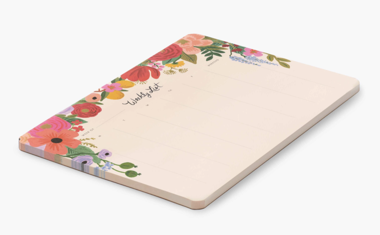 Rifle Paper Co. Weekly Desk Pad--CHOOSE DESIGN