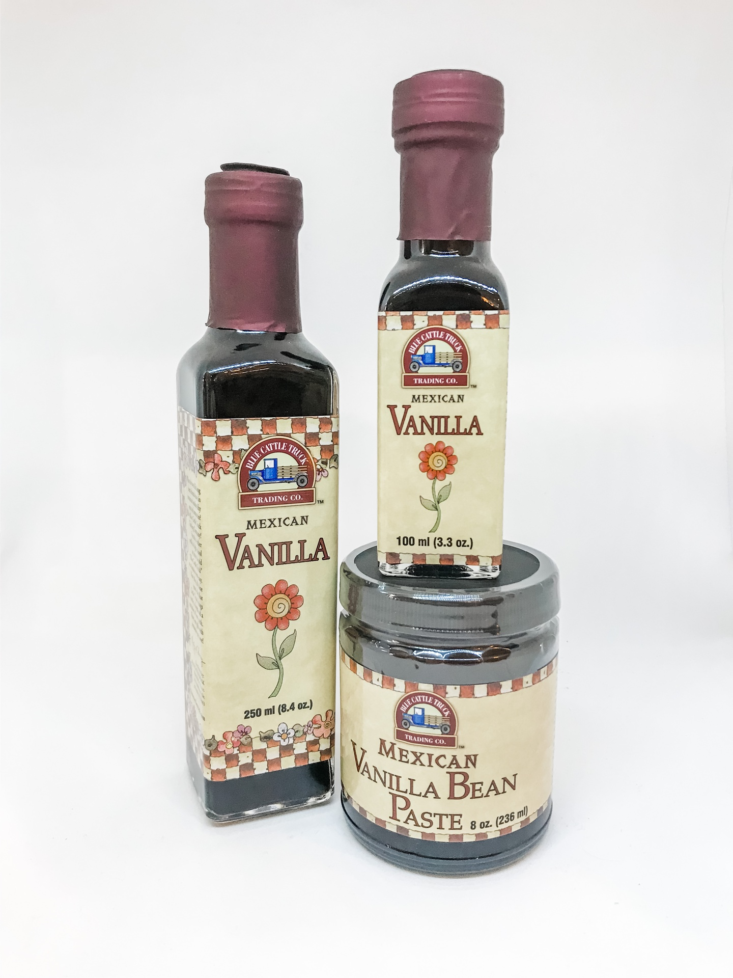 Mexican Vanilla Extract--CHOOSE SIZE