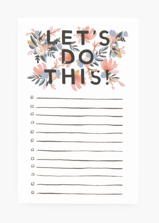 Rifle Paper Co. Notepad--CHOOSE DESIGN