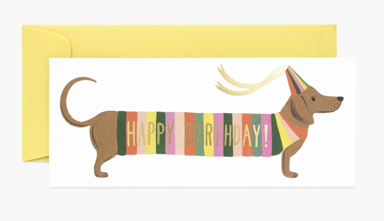 Hot Dog, Rifle Paper Co. Blank Greeting Card