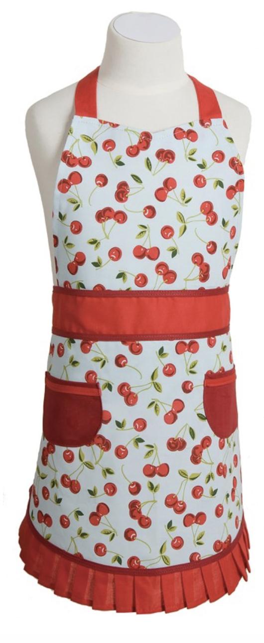 Cherries, Sally (Child's) Apron