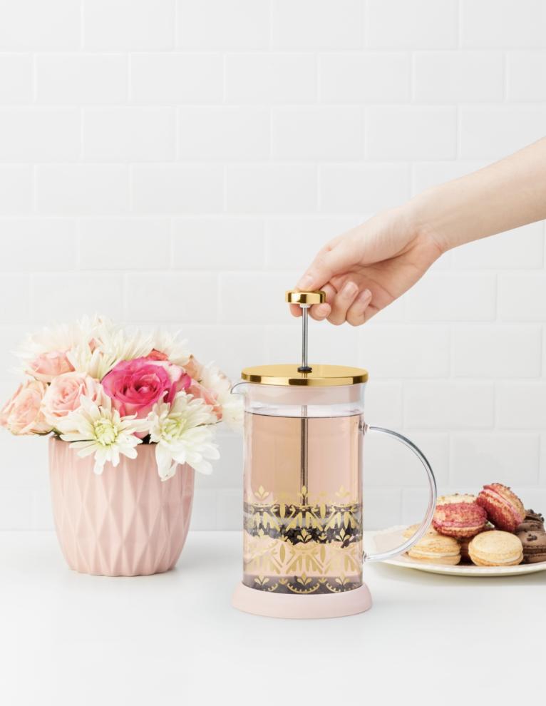 Casablanca Glass Tea Press Pot/Coffee Press