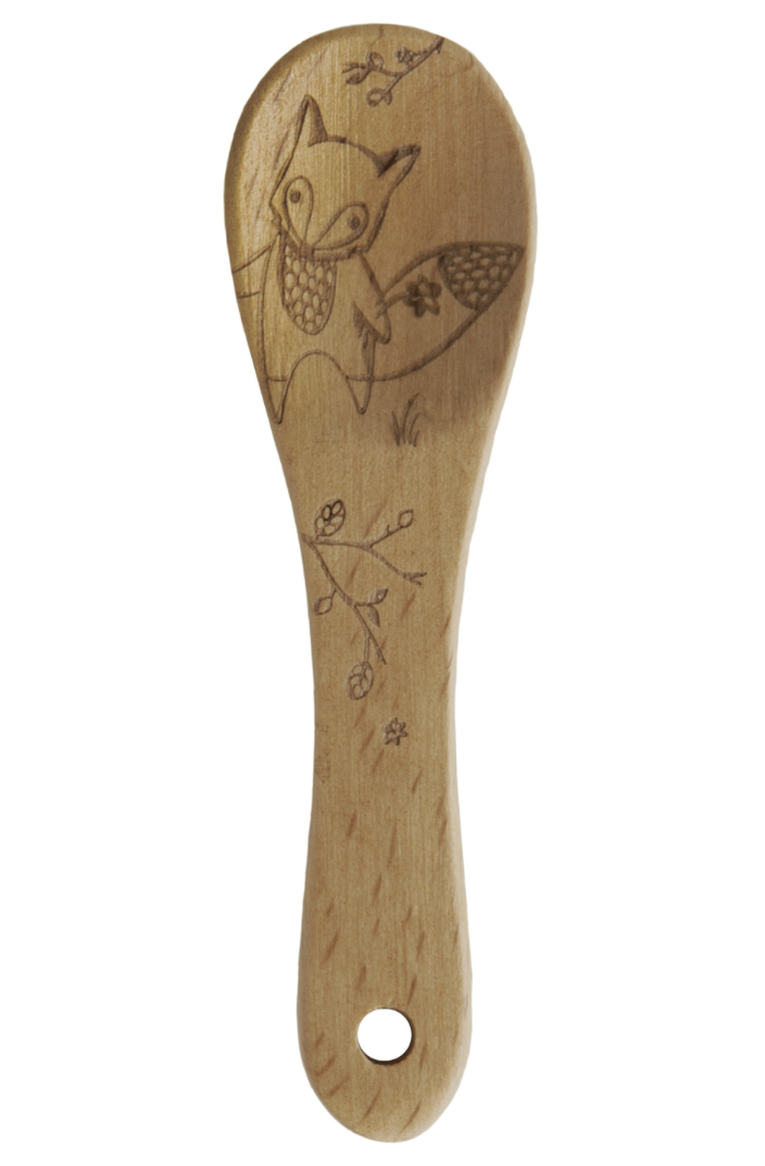 Mini Etched Wooden Spoons--CHOOSE DESIGN