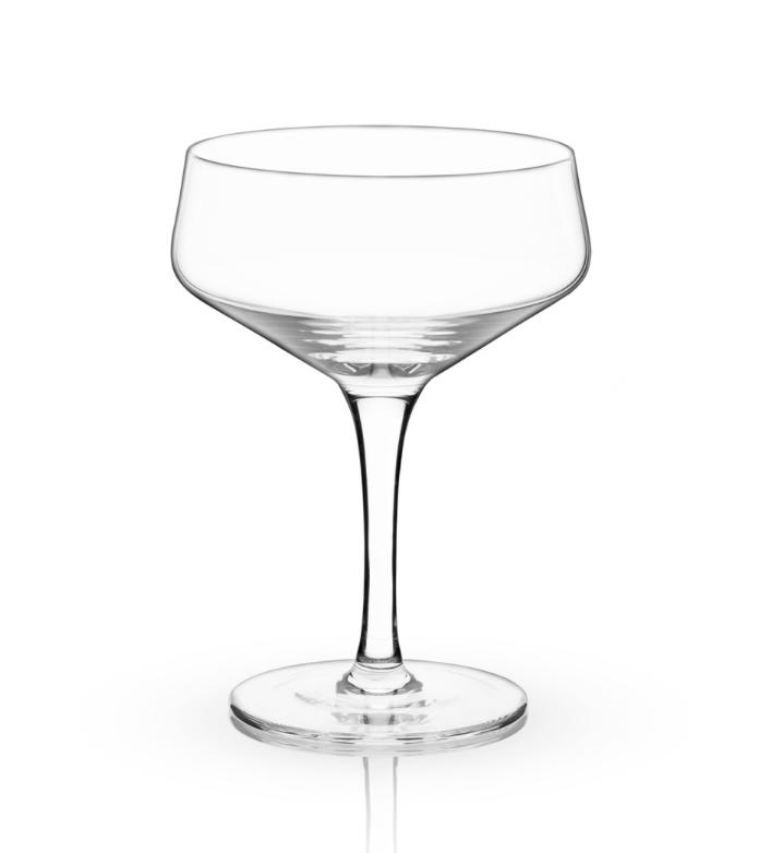 Crystal Coupe Glass, set/2