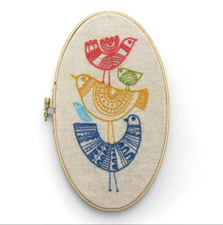 Birds Embroidery Kit