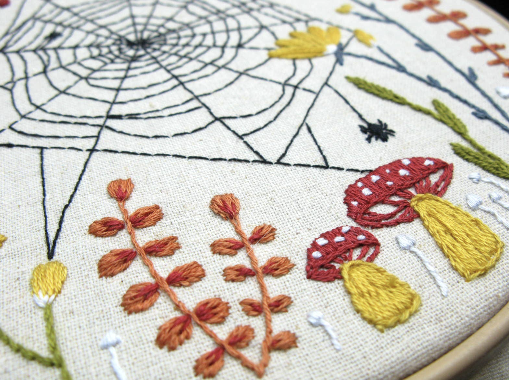 Woven Web Embroidery Kit