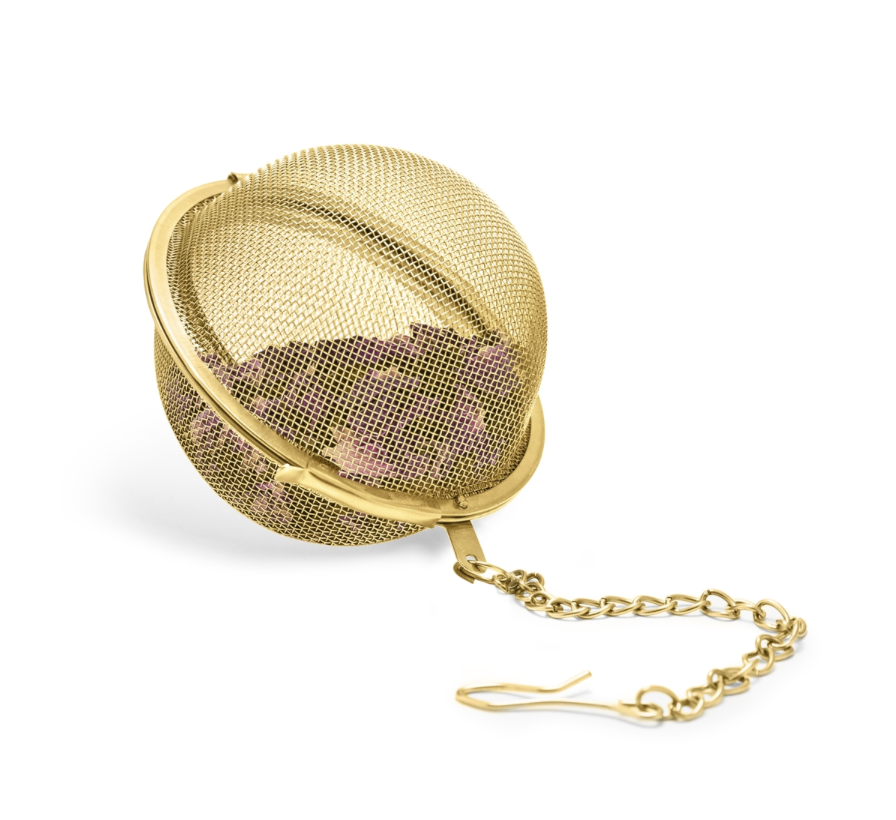 Tea Infuser Ball in Gold