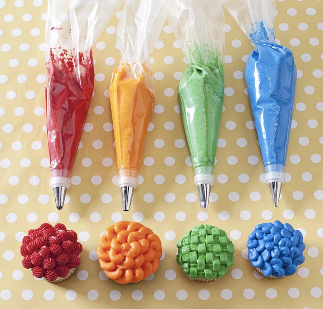 Pastry Decorating Tip Set, 20 piece set