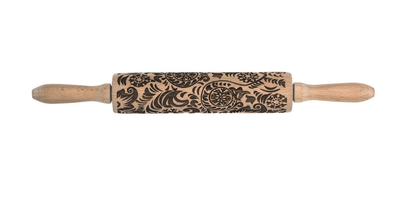 Paisley Design Rolling Pin