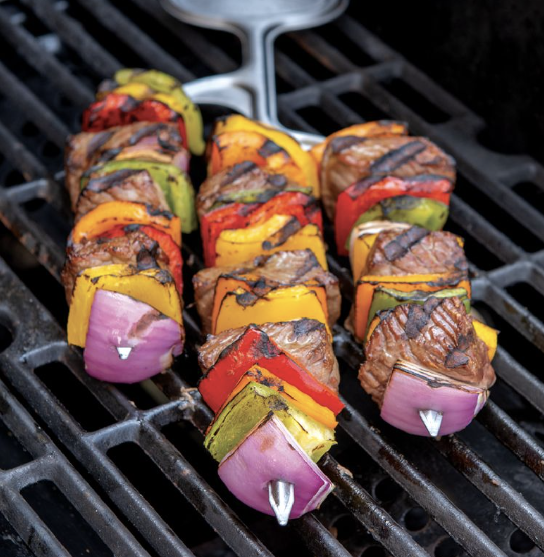Stainless Steel Cactus Kabob