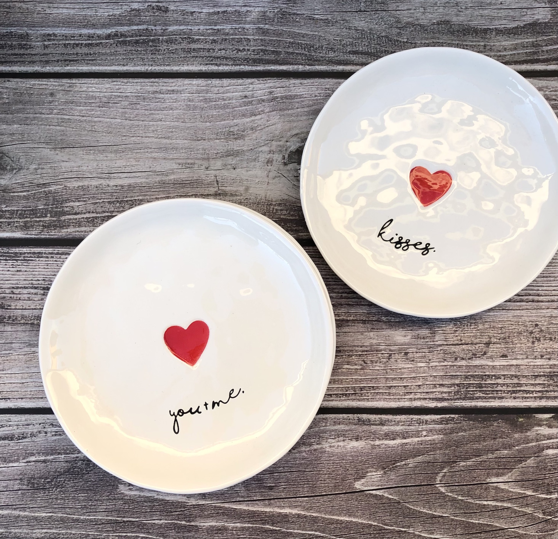 Romance Plate--CHOOSE DESIGN