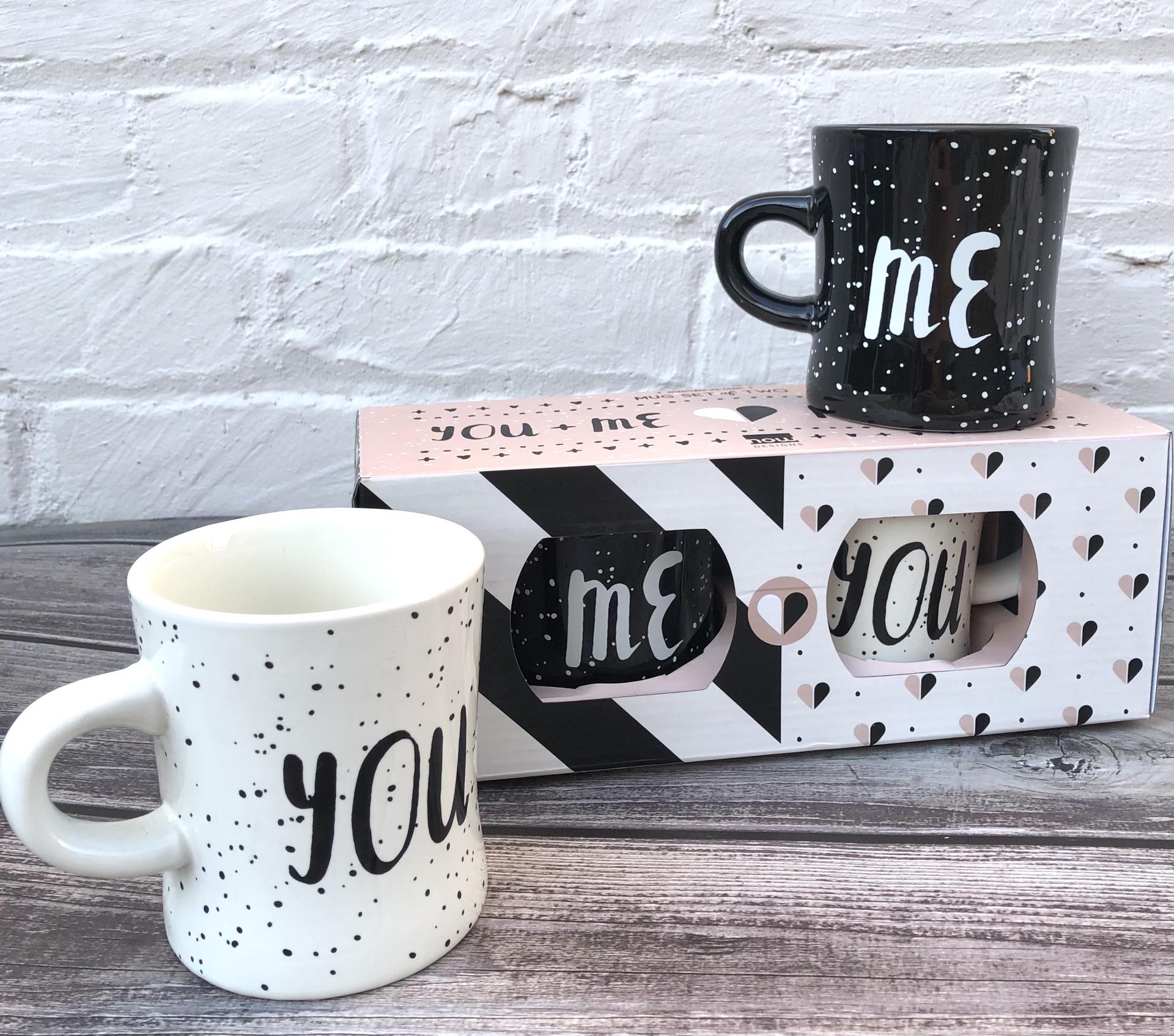You & Me Mug Set