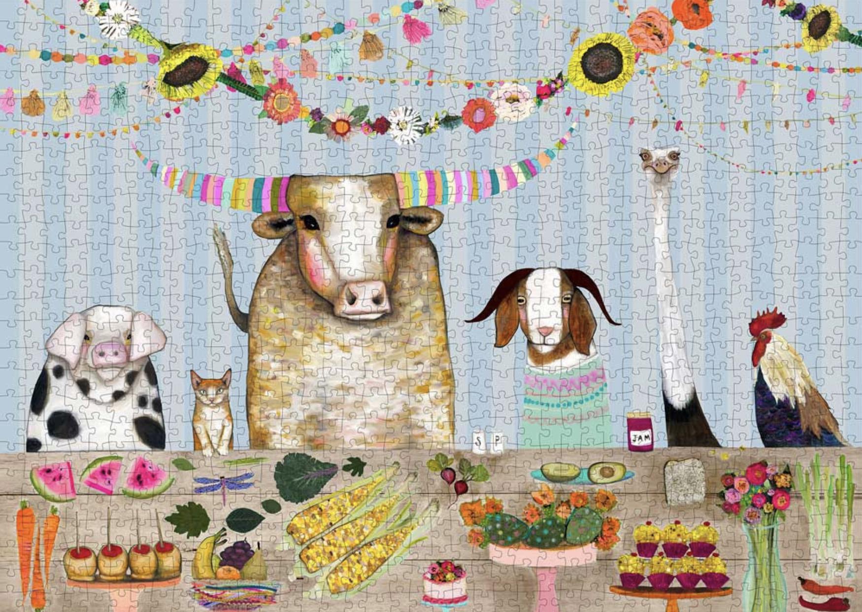 Corn Muffins, 1000 Piece Puzzle