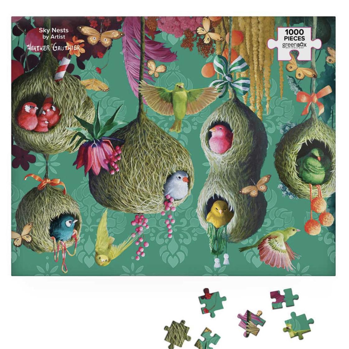 Sky Nests, 1000 Piece Puzzle