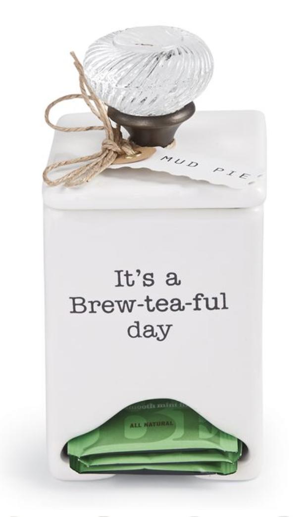 Door Knob Tea Bag Caddy