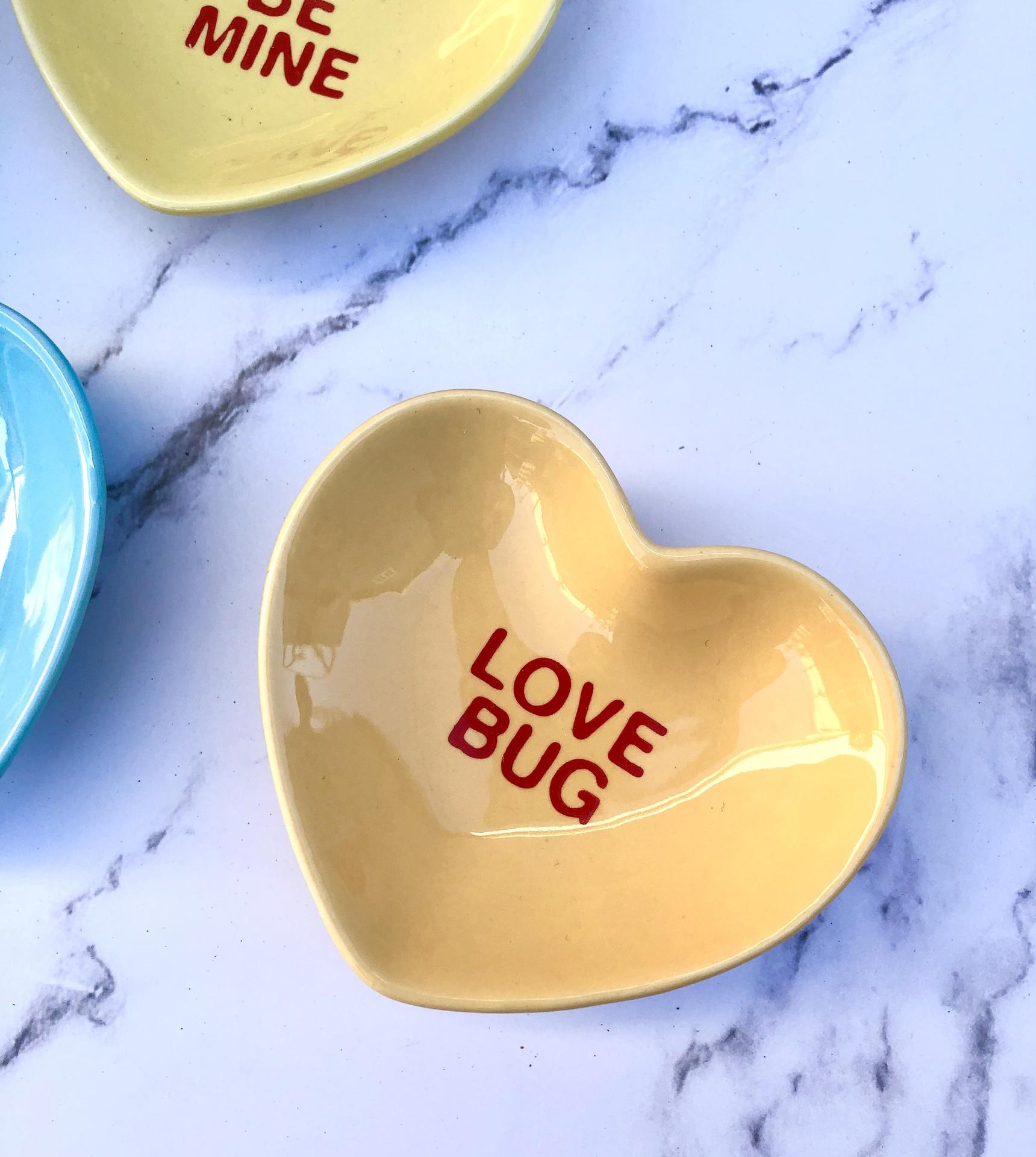 Sweet Hearts Pinch Bowl--CHOOSE DESIGN/COLOR