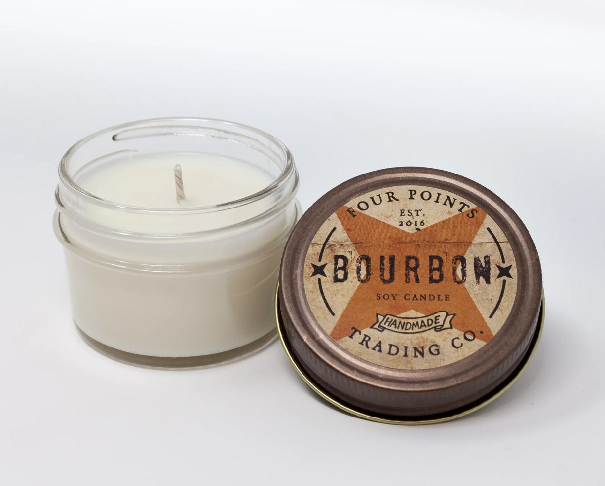Bourbon, 4oz Soy Candle