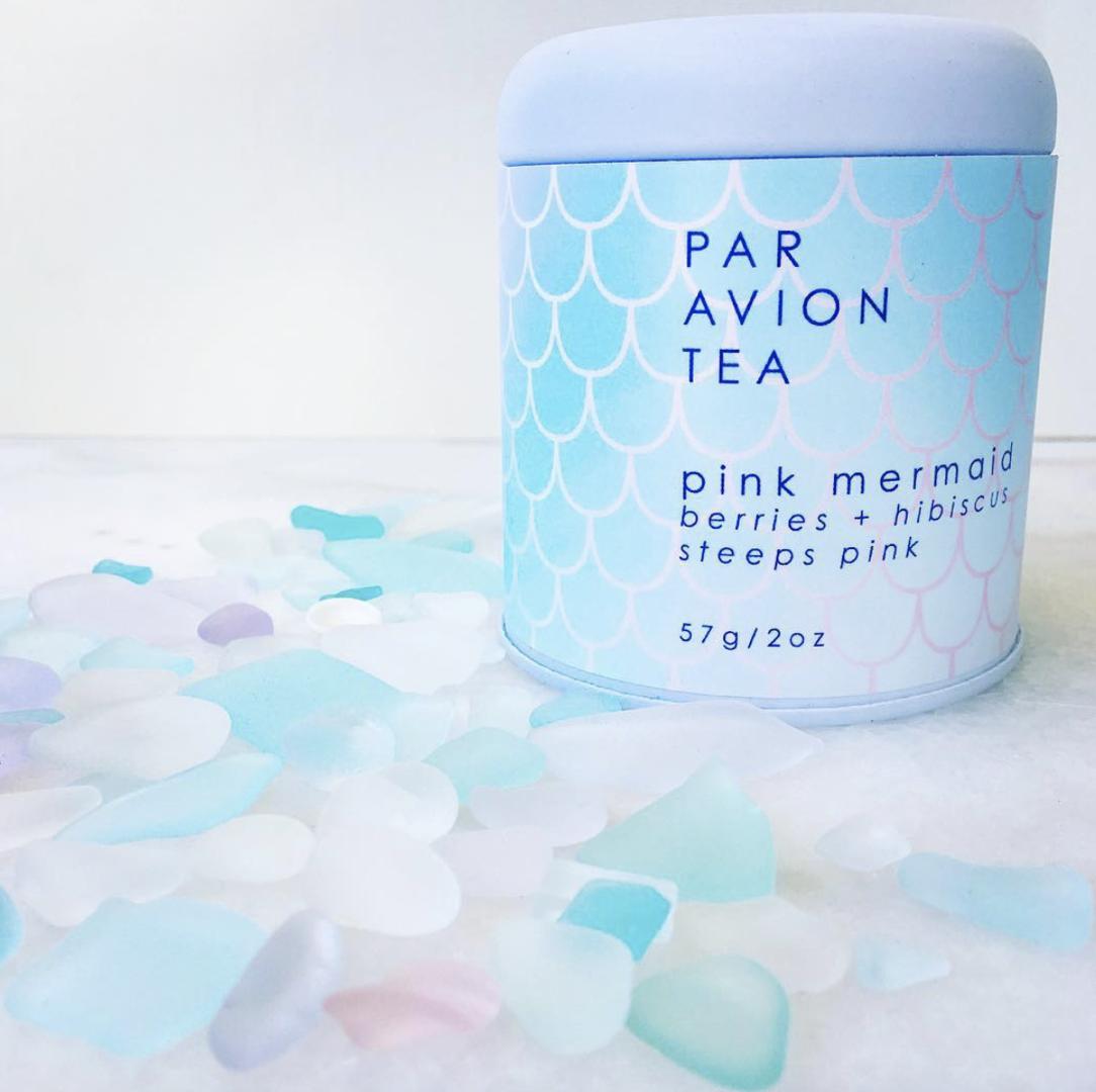 Par Avion Pink Mermaid, Loose Leaf Tea