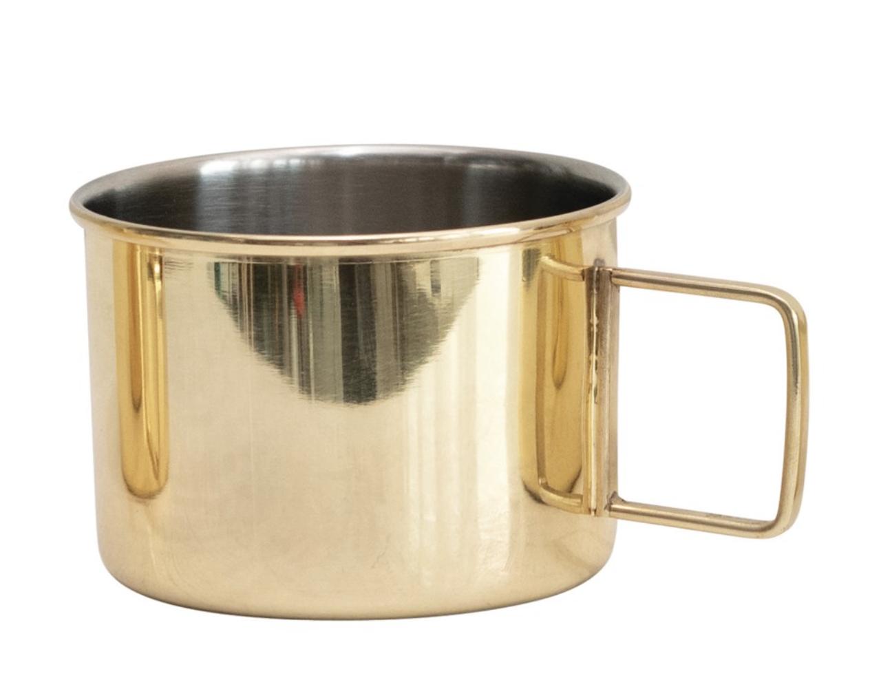 Moscow Mule Mug, Brass Finish